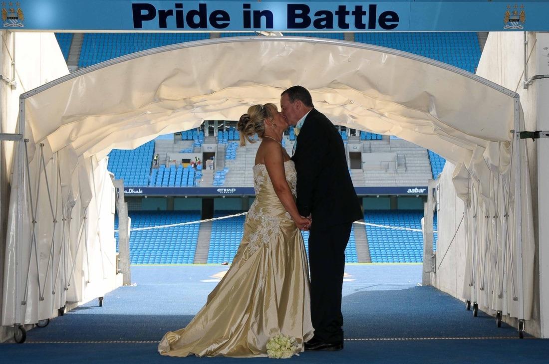 Average Wedding Photographer Cost Uk: Etihad Stadium Wedding Photography