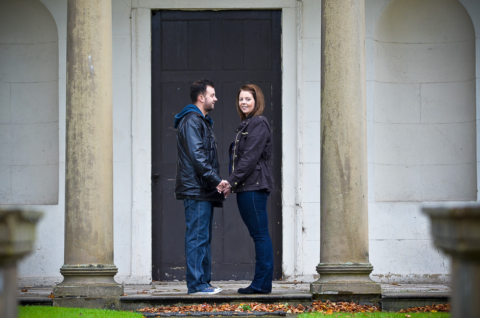 Heaton Park engagement photographer - Amanda & Adam