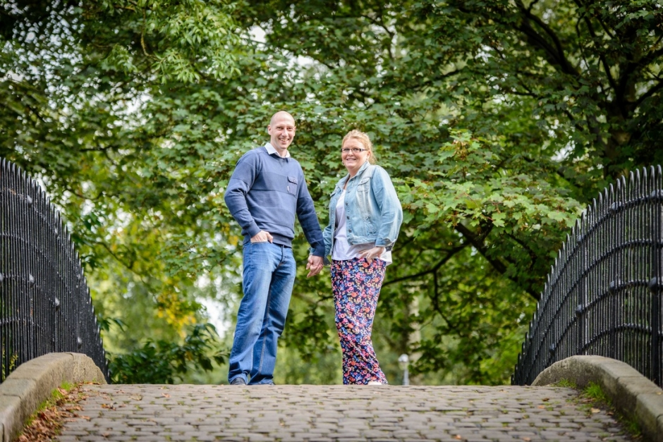 Worsley Hall engagement photography