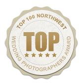 Northwest wedding photographers award