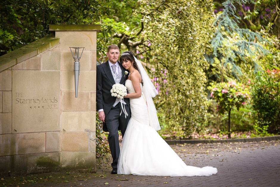 Stanneylands Hotel Wedding Photography