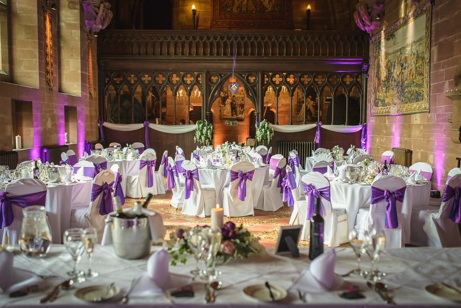 Wedding photography Peckforton Castle