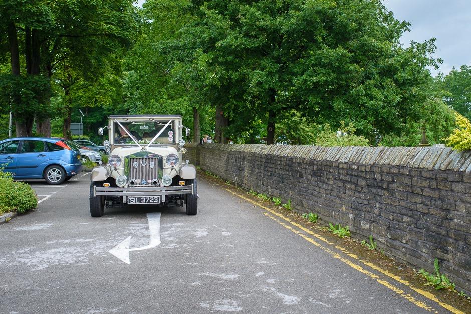 Norbury Church bridal car