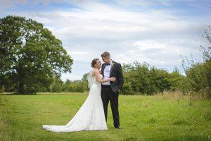 bride and groom styal lodge
