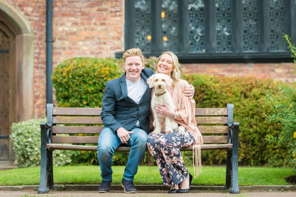 Bramhall Park engagement photography