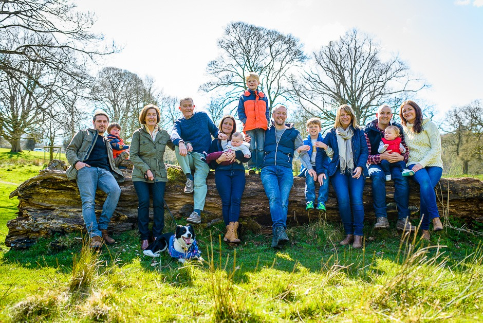 Lifestyle family photography Cheshire