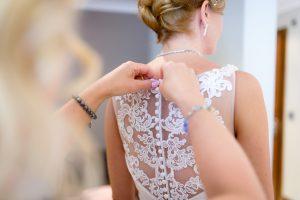 Stanneylands Hotel bridal preparations