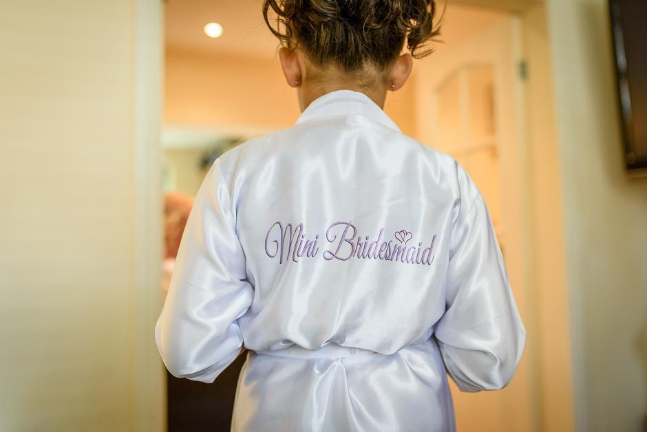 young bridesmaid