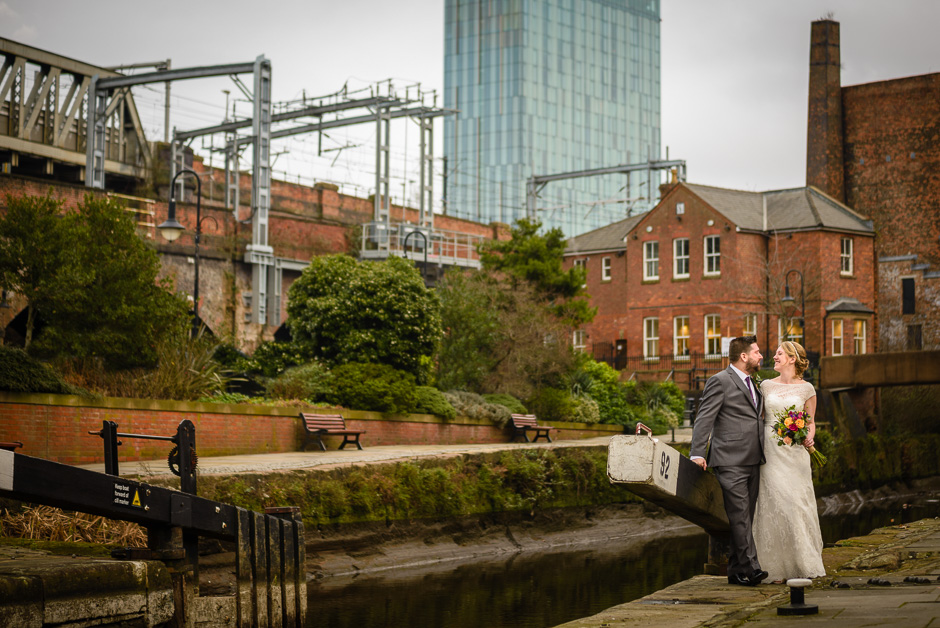 Castlefield Rooms Wedding Photography 1