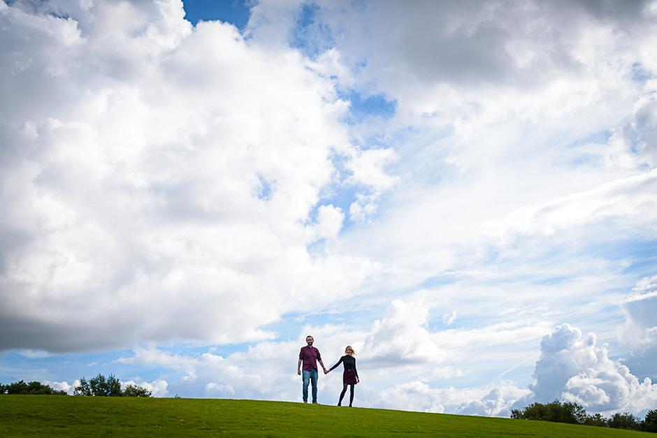 Heaton Park engagement shoot
