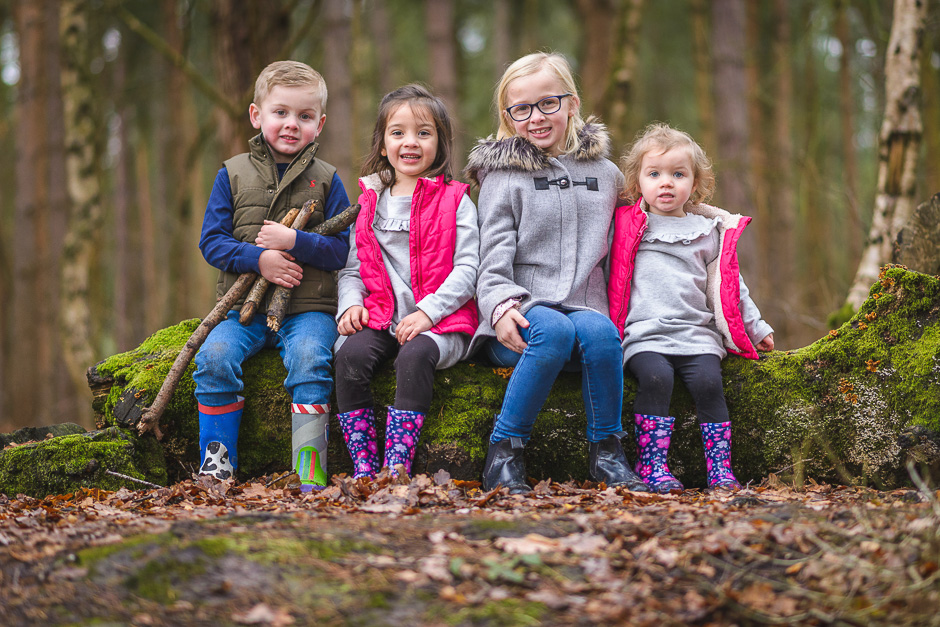delamere forest photo shoot in cheshire
