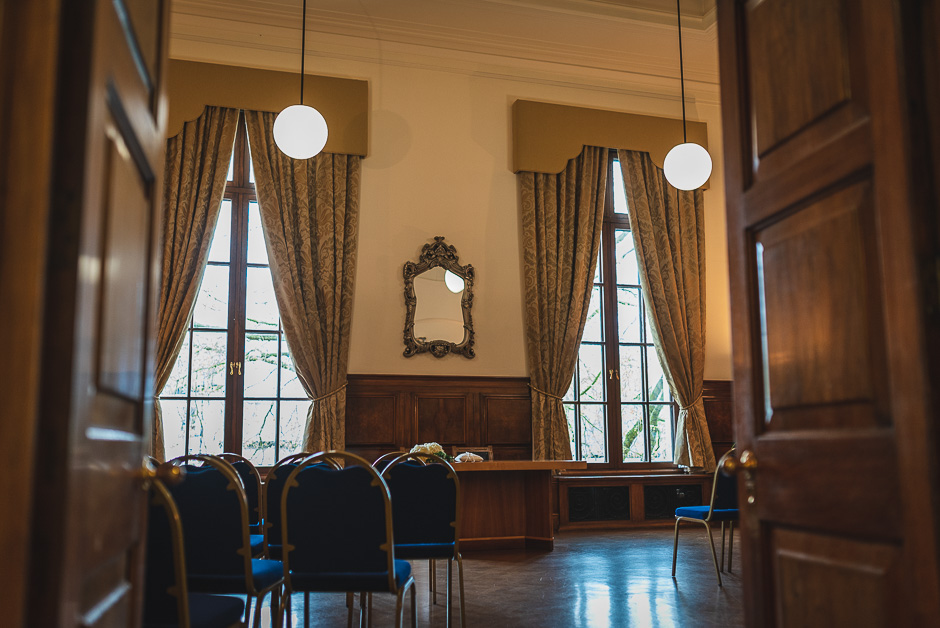 ceremony room at Sale Town Hall