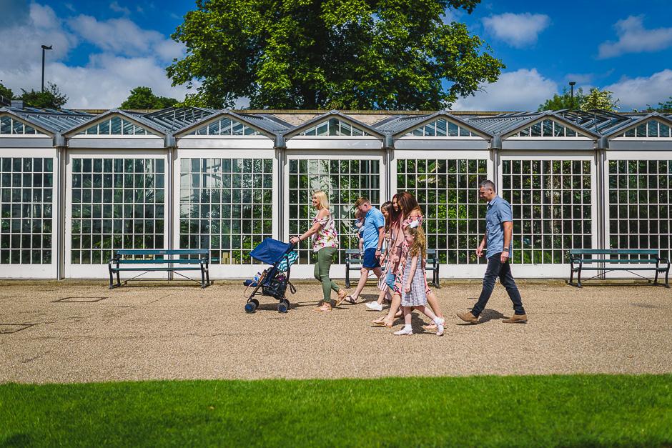 Sheffield Botanical Gardens Family photography