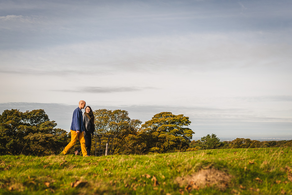 Pre wedding photography in Lyme Park