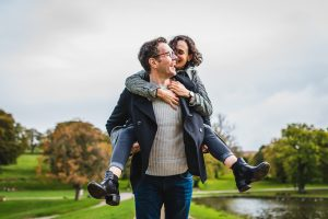 Pre Wedding Photography at Lyme Park in Cheshire