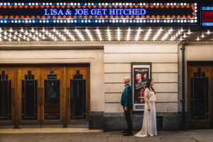 Art Deco Stockport Plaza Wedding