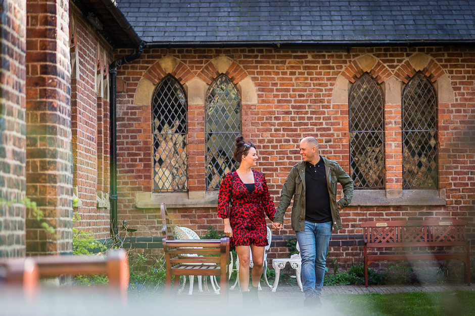 The Monastery - Manchester Engagement Photography